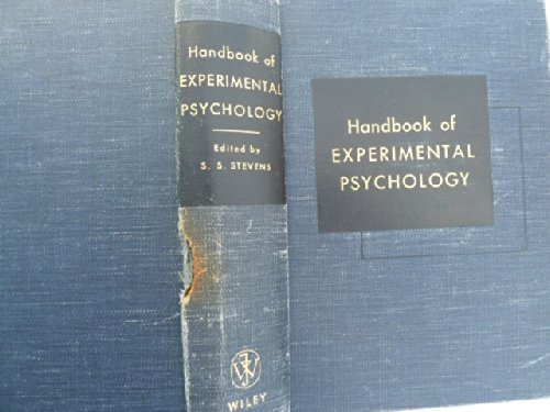 Handbook of Experimental Psychology