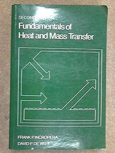 9780471825616: Fundamentals of Heat and Mass Transfer