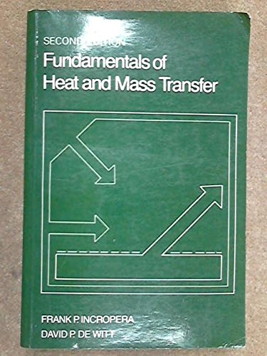 9780471825616: Fundamentals of Heat and Mass Transfer