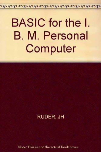 9780471826361: BASIC for the IBM PC
