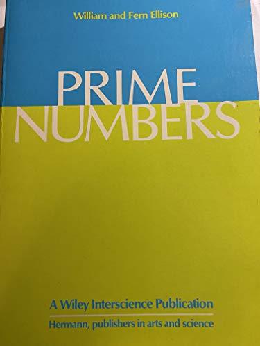 9780471826538: Prime numbers