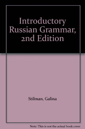 9780471827306: Introductory Russian Grammar, 2nd Edition