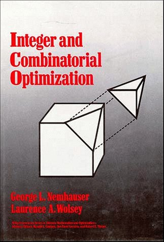 9780471828198: Integer and Combinatorial Optimization (Wiley Series in Discrete Mathematics and Optimization)