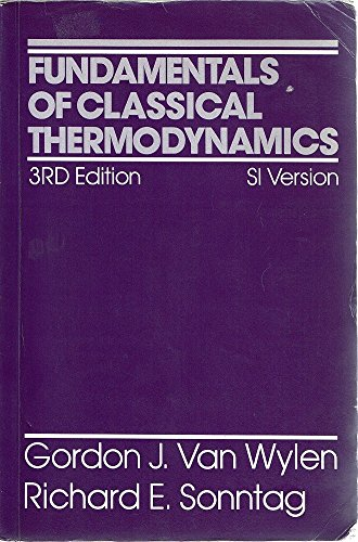 9780471829331: Fundamentals of Classical Thermodynamics