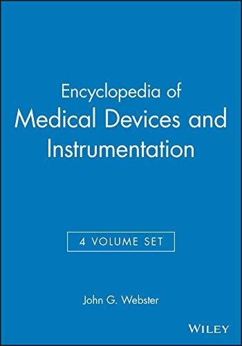 9780471829362: Encyclopedia of Medical Devices and Instrumentation (4-Volume Set)