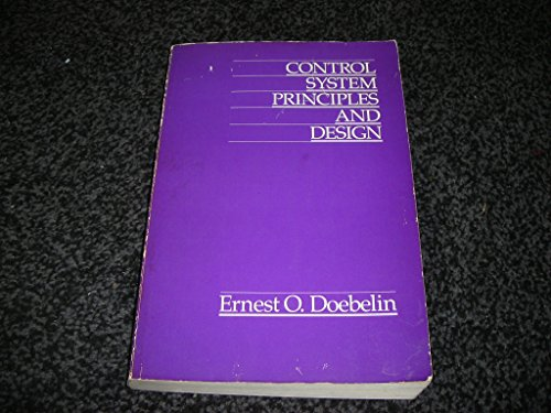9780471829676: Control System Principles and Design