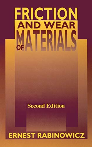 9780471830849: Friction and Wear of Materials
