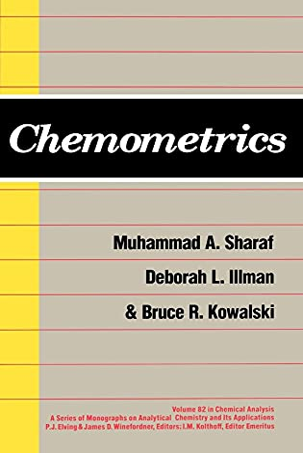 9780471831068: Chemometrics