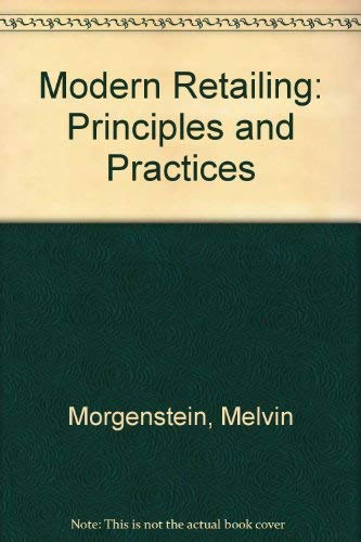 9780471832010: Modern Retailing: Principles and Practices