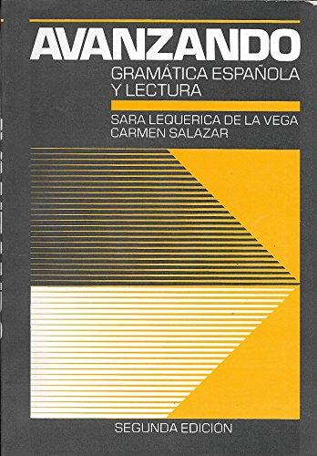 9780471836407: Title: Avanzando Gramatica Espanola Y Lectura
