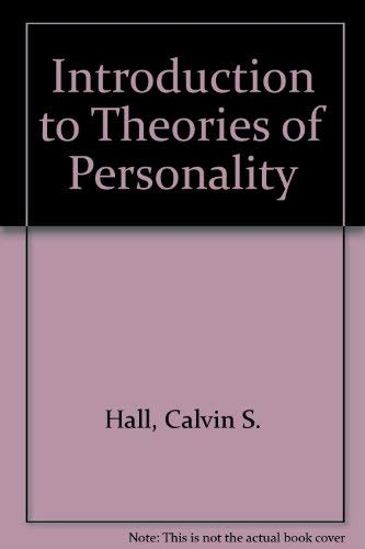 9780471836940: Introduction to Theories of Personality