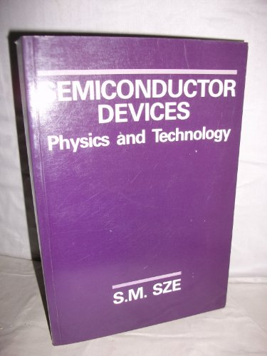 9780471837046: Semiconductor Devices: Physics and Technology
