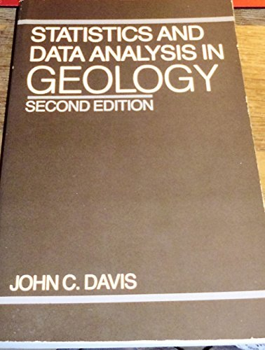 9780471837435: Statistics and Data Analysis in Geology