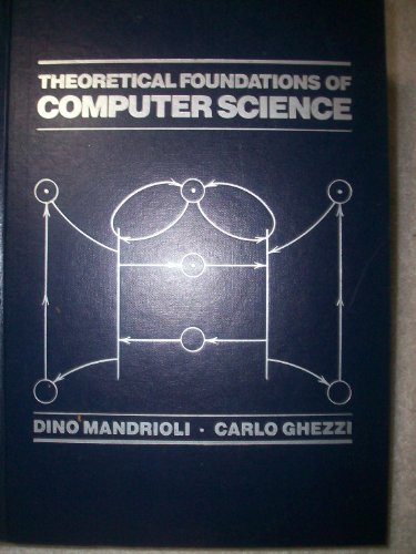 9780471838340: Theoretical Foundations of Computer Science