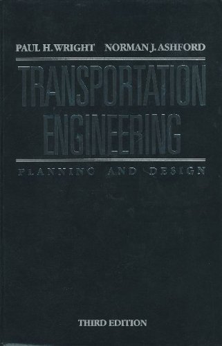 9780471838746: Transportation Engineering: Planning and Design