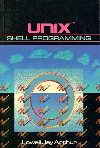 9780471839002: Unix Shell Programming