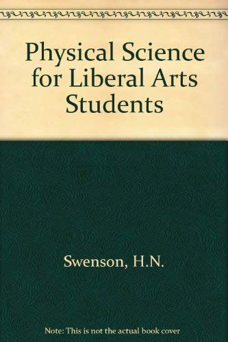 9780471839552: Physical Science for Liberal Arts Students