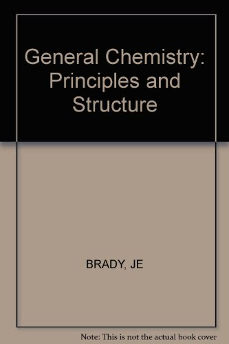 9780471840299: General Chemistry: Principles and Structure
