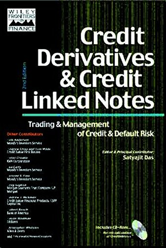 9780471840312: Credit Derivatives and Credit Linked Notes (Frontiers in Finance Series)