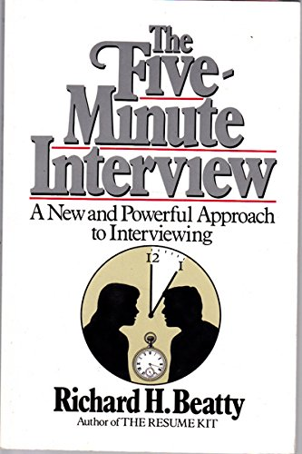 9780471840343: The Five Minute Interview