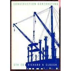 9780471840398: Construction Contracting