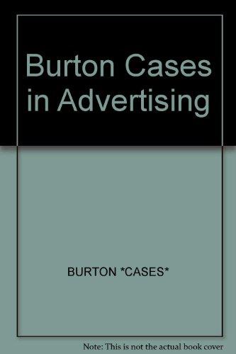 9780471841548: Burton Cases in Advertising