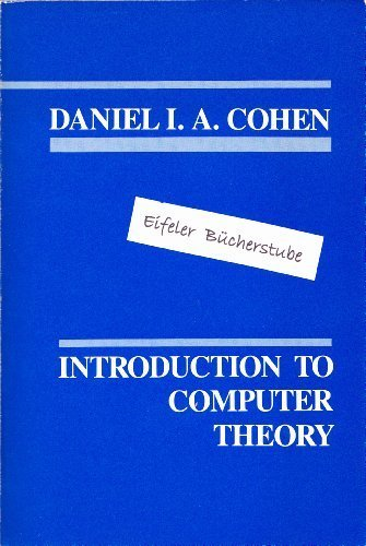 9780471843160: Introduction to Computer Theory