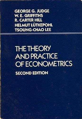 9780471845720: The Theory and Practice of Econometrics