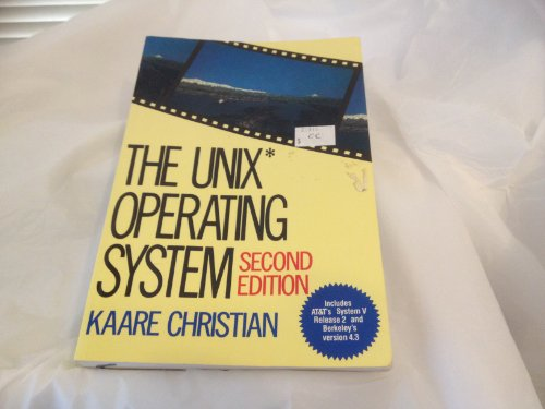 9780471847816: The UNIX Operating System