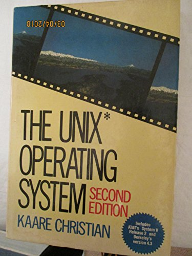 9780471847823: The UNIX Operating System
