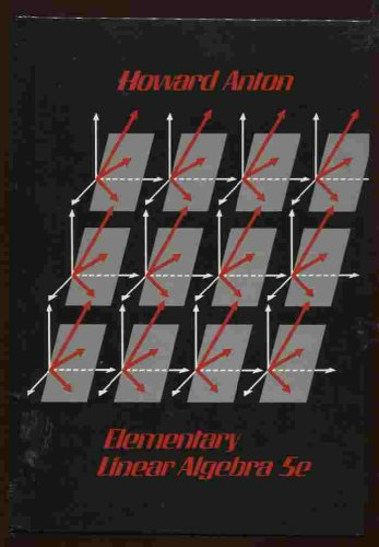 9780471848196: Elementary Linear Algebra