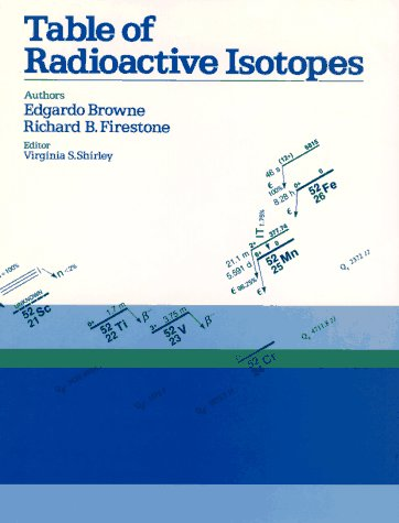9780471849094: Table of Radioactive Isotopes