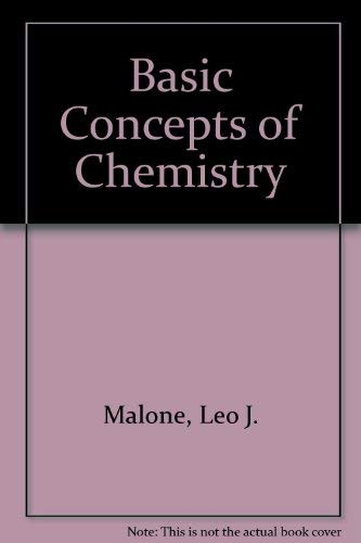 9780471849308: Basic Concepts of Chemistry
