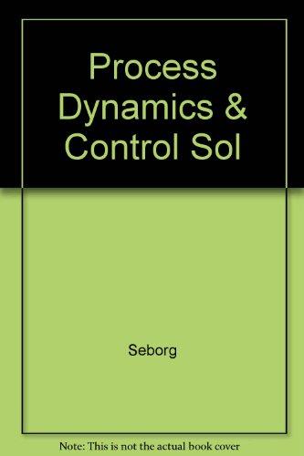 9780471849889: Process Dynamics & Control Sol