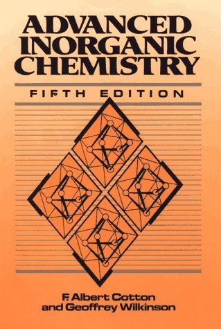 9780471849971: Advanced Inorganic Chemistry