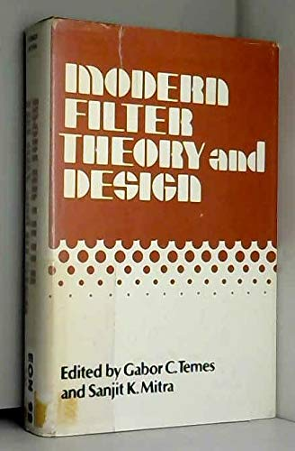 9780471851301: Modern Filter Theory and Design