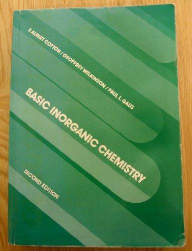 9780471851516: Basic Inorganic Chemistry