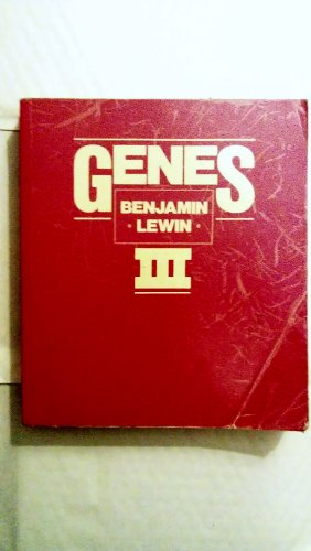 Genes: Third Edition: Lewin, Benjamin