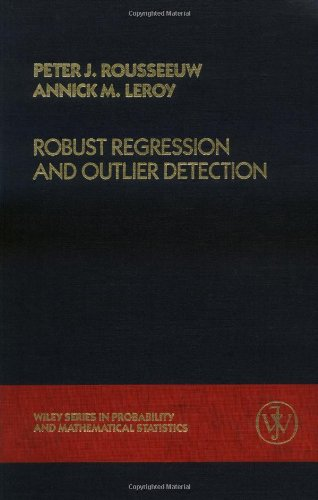 9780471852339: Robust Regression and Outlier Detection (Wiley Series in Probability & Mathematical Statistics: Applied Probability & Statistics)