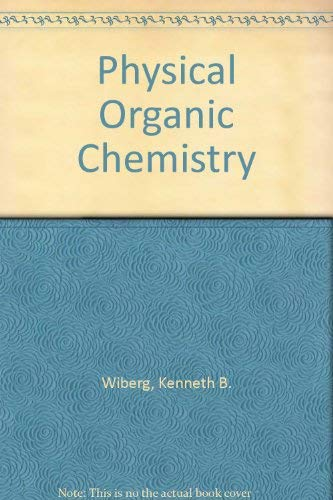 9780471853633: Physical Organic Chemistry
