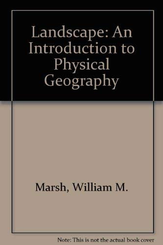 9780471854333: Landscape: An Introduction to Physical Geography