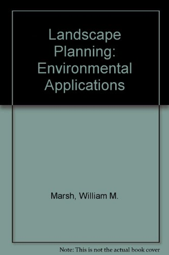 9780471854340: Landscape Planning: Environmental Applications