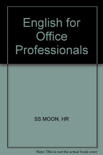9780471855361: English for Office Professionals