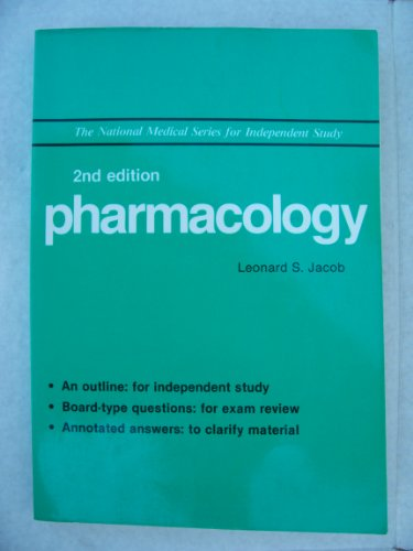 9780471858065: Pharmacology (National Medicine Series)