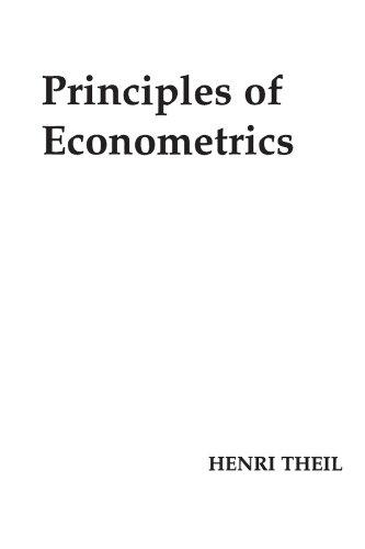 9780471858454: Principles of Econometrics
