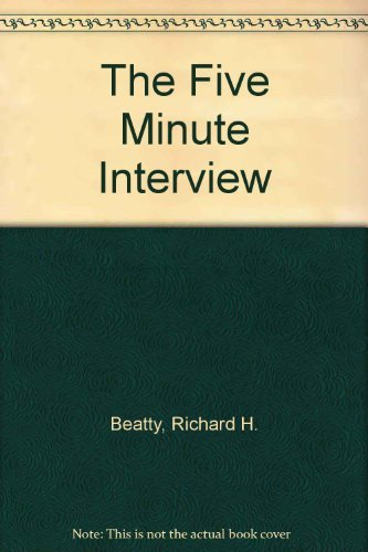 9780471858898: The Five Minute Interview