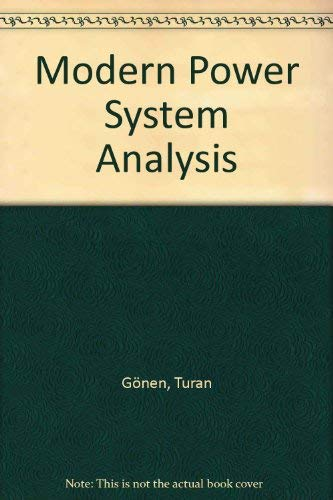 9780471859031: Modern Power System Analysis
