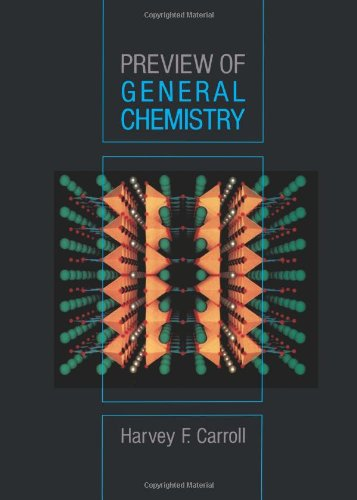 9780471860020: Preview of General Chemistry