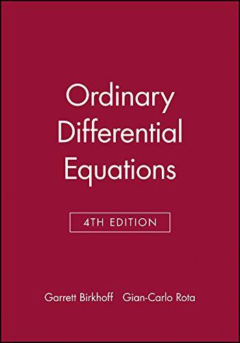 9780471860037: Ordinary Differential Equations 4e