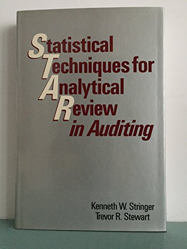 9780471860761: Statistical Techniques for Analytical Review in Auditing